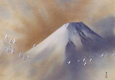 横山大観-富士
