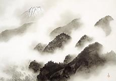 横山大観-雨霽る(あめはれる)