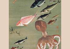 伊藤若冲-群魚図