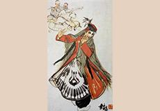 维吾尔舞図