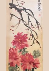 斉白石-花