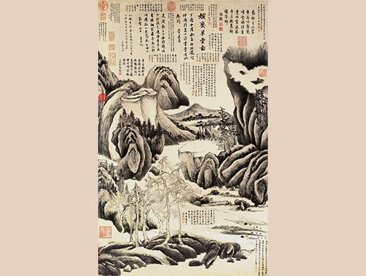 董其昌メイン画像-婉孌草堂図