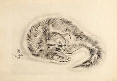 藤田嗣治-猫