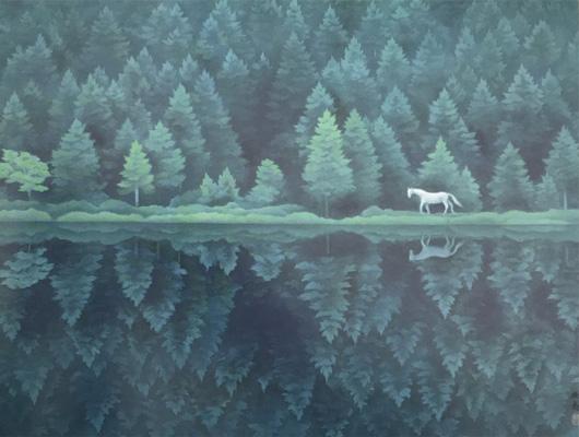 東山魁夷メイン画像-緑響く