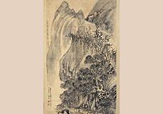 王鐸-山水画