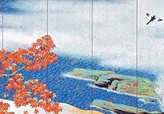 横山大観-紅葉