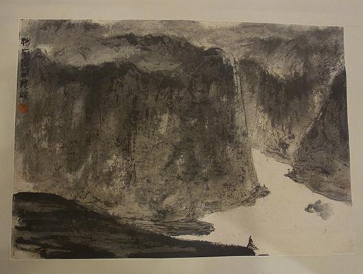 傅抱石メイン画像-西陵峡