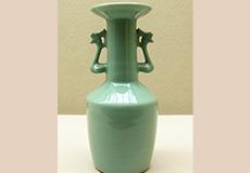 板谷波山-青磁鳳耳花瓶