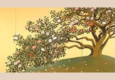速水御舟-名樹散椿図